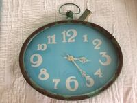 Iron Oval Wall Clock Harpers Ferry, 25425