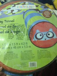 Kids play tunnel