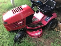 red and black Craftsman ride on mower West Friendship, 21794