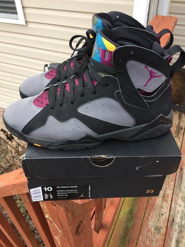 new arrival 05890 a2ba7 Used bordeaux air jordan 7 retro with box for sale in Chesapeake - letgo