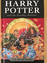Hardcover Harry Potter and the Deathly Hallows 2007 edition New Westminster, V3M 2M7