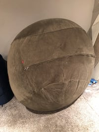 Full size bean bag chair bed