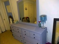 Dresser with large mirror Charlotte, 28216