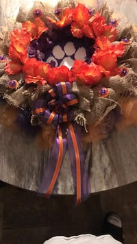 Custom made Clemson tigers wreaths  Tobaccoville, 27050