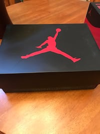 black and red Air Jordan shoe box Antelope, 95843