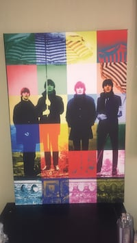 The Beatles Pop Art  Canvas Fairfield, 94533