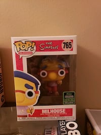 Pop funko the simpsons including treehouse horrors and milhouse  Toronto, M6K 1T8