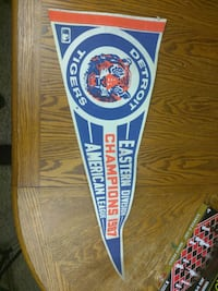1987 Detroit Tigers Pennant Division Champions