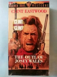 The Outlaw Josey Wales vhs Baltimore