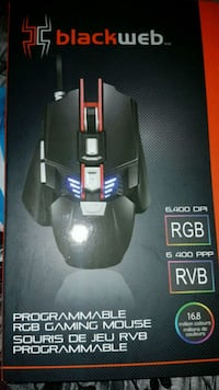 Programmable rgb gaming mouse  Surrey, V3V 4J7