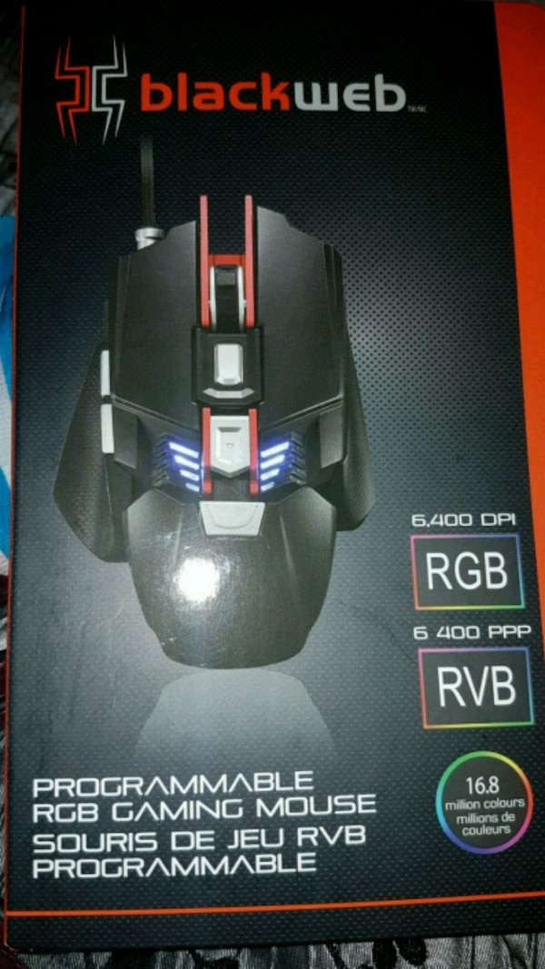Programmable rgb gaming mouse  0