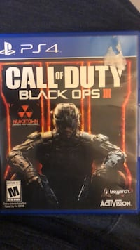 Black OPS 3 - PS4 Coquitlam, V3J 2W4