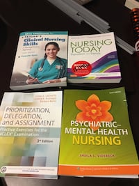 Rn nursing books. $15 each