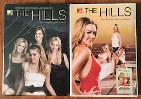 THE HILLS SEASON ONE & TWO DVDS