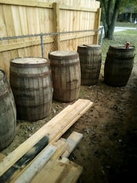 whiskey barrel s 85$a  piece call after noon Shepherdsville, 40165