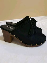 Tassle Clogs, New in Box, Size 9.5 Kitchener, N2E 3T7