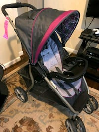 baby's black and pink stroller Upper Marlboro, 20774