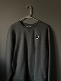 GREY FILA SWEATER  Ajax, L1S 7L6