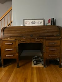 Antique roll-top desk WASHINGTON