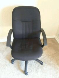 black leather office rolling armchair Towson, 21204
