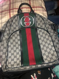 Black and green gucci backpack Sacramento, 95824