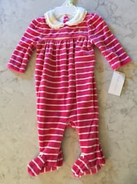New with tags Ralph Lauren Velour Onesies Damascus, 20872
