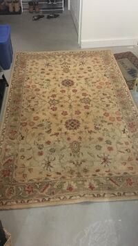 beige and red floral area rug Brookfield, 06804