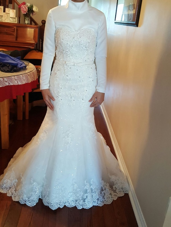 7a42bbeb2b1 Wedding dress for only  600 usado en venta en Toronto - letgo