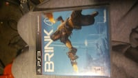 Brink Sony PS3 game case