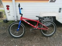 red and blue BMX bike Hastings, 16646