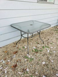 Glass Patio Table with 4 chairs 293 mi
