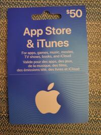 iTunes Gift Card Calgary, T3H 5M1