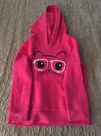 pink and gray cat head print pull over hoodie jacket Suitland, 20748