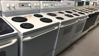 White electric stoves with coils 90 days warranty Reisterstown, 21136
