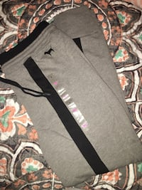 VS Pink High Waisted Skinny Joggers