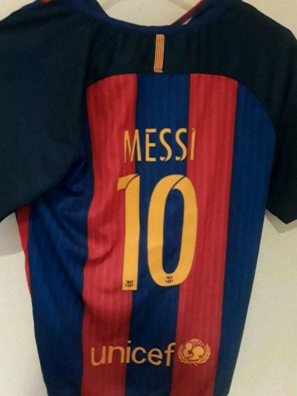 db2597446b4 Used Barcelona Messi Jersey for sale in Morristown - letgo