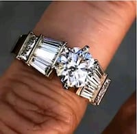 Brand new 925 Silver filled rings Del City