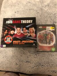 Big Bang theory game & holiday shows Hagerstown, 21740