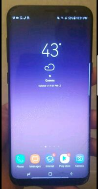 S8+ T-MOBILE CRACKED SCREEN FULLY FUNCTIONAL 64 GB Queens, 11417