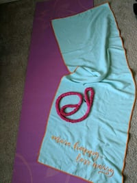 Yoga Mat, Towel and Carrier San Angelo, 76905