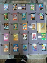 ORIGINAL NES NINTENDO COMPLETE W/65 GAMES 300 OBO New Port Richey, 34655
