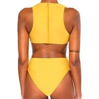 Yellow swimsuit size L new in package  Toronto, M3B 3R7