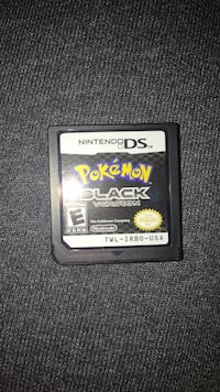 Pokemon black ds