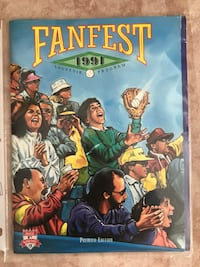 1991 MLB baseball Fanfest Program for the Toronto Blue Jays Vaughan, L4H 2S8