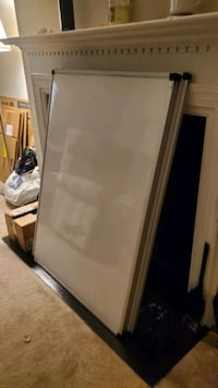 Three 4x3 ft, high quality magnetic whiteboards for sale.  Norfolk, 23507