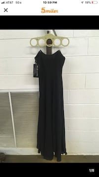 Black Xs formal gown Alexandria, 22306