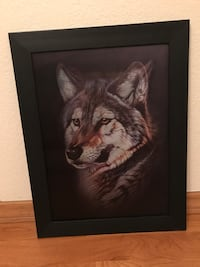 Holographic Wolf Picture/Wall Decor Eugene, 97402