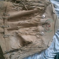 Womans small native art suede jacket Edmonton, T6K 0K1