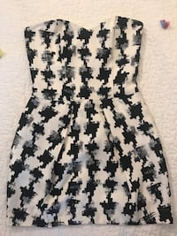 Rubber ducky party dress with pockets