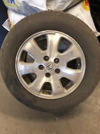 Honda Odyssey 2004 Original Rims and 4 Pirelli a/s Tires Toronto, M9W 4L8